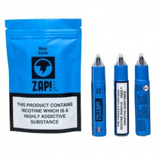 zap! juice blue soda